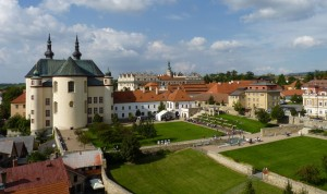 Litomyšl,_klášterní_zahrady_z_kostelnívěže